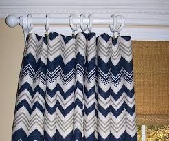 projects inspiration navy blue chevron curtains pretty denton