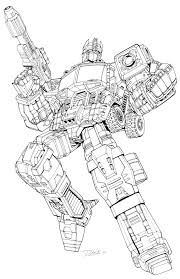 Energon Optimus Prime Lineart Artwork For Unreleased Transformers And Megatron Redecos