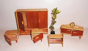 puppenstube möbel 50er jahre schlafzimmer sideboard schrank