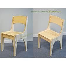 chaise enfant en bois chaise enfant bois artisanale fabrication ecolojeux