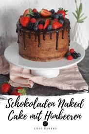 schokoladen cake mit himbeer fruchteinlage loui bakery