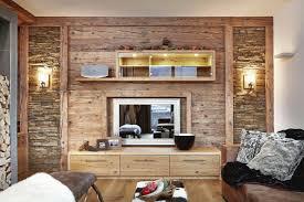 wohnzimmer holzwand modern altholz wohnzimmer schöne