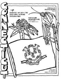 Connecticut State Symbol Coloring Page By Crayola Print Or Color Online