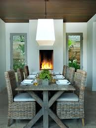 Houzz Dining Room Chairs Woven Fascinating Glass Table