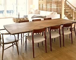 Live Edge Walnut Table For Luxury Sag Harbor Home