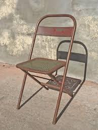 100 Folding Chair Art Vintage Deco C093