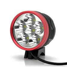 4500 lumens white light bicycle l headlight 6x cree xm l t6
