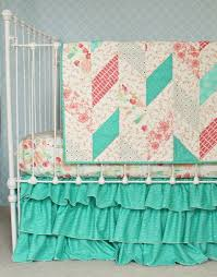 Teal And Coral Baby Bedding by 63 Best Lottie Da Baby Bedding Images On Pinterest Baby Beds