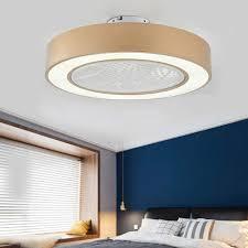 deckenventilator mit beleuchtung moderne led 36w fan