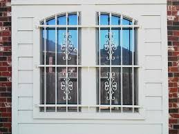 Decorative Security Grilles For Windows Uk by Decorative Window Iron Bars Fixed Decorative Window Bars