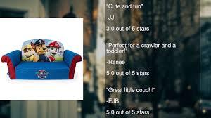 Minnie Mouse Flip Open Sofa Bed by Marshmallow Furniture Children U0027s 2 In 1 Flip Open Foam Sofa