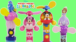 Minnie Mouse Painted Pumpkin by Disney Mickey Minnie Mouse Gum Ball Candy Dispensers Learn Colors