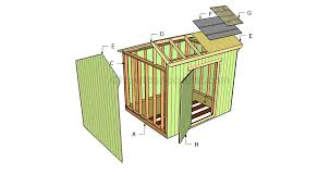 8x10 Saltbox Shed Plans by How To Build A Saltbox Shed Roof Howtospecialist How To Build