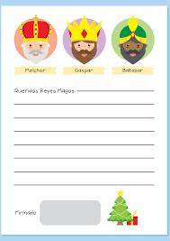 Carta A Papá Noel Para Imprimir Etapa Infantil