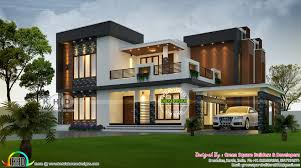 100 Contemporary Home Designs 2423 Square Feet 4 Bhk Contemporary Home Plan Kerala Home
