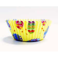 PME Colourful Eggs Paper Baking Cases For Cupcakes Standard Size