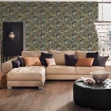 a s création vliestapete il decoro tapete mit fotorealistischen zahnrädern grau grün metallic