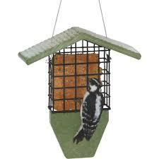 MWB Hopper Feeder Small Cedar CEDAR Roof Moore Wild Birds