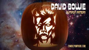 Walking Dead Pumpkin Designs by David Bowie Pumpkin Pattern By Zombiepumpkins Com Youtube