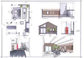 le de bureau architecte réagencement des espaces salon salle à manger bureau architecte
