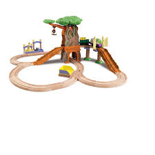 Tidmouth Sheds Trackmaster Toys R Us by Chuggington Wooden Railway Train Set Koko Safari Set Tomy