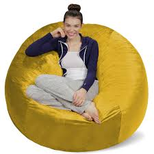Latitude Run Bean Bag Sofa & Reviews | Wayfair 17 Best Bean Bag Chairs Of 2019 To Consider For Your Living Room Large Sofa Cover Lounger Chair Ottoman Seat Adults Design Ideas Youll Get A Hoot Out This Owl Patterned Beanbag From Christopher Great For Bbybark Home Decor Amazoncom Lumaland Luxury 5foot With Microsuede Sack Plush Ultra Soft Bags Kids With Beans Online Store Cord X Adult Natural Stone Cordaroys Convertible Theres Bed Inside Queen Fatboy Junior Outdoor