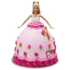 Order This Pink Doll Cake Online Delivery In Karol Bagh Delhi