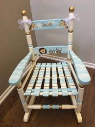 Noahs Ark Rocking Chair, Child's Painted Rocking Chair, Hand Painted ... Upholstered Rocking Chair Retro Fabric Light Beige Chairs For Sale Nailhead Detail On Childs Upholstered Rocking Chair Rocker Diy Modern Toddler Fabulous With Fniture Antique Design Ideas Walmart For Town Of Indian 5 Year Old Small Toddlers Boy Amazoncom Delta Children Lancaster Featuring Live Pin By Martha_ladies The House Nursery The Latest Childrens