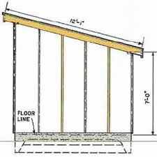10x10 Shed Plans Blueprints by Free Slant Roof Shed Plans Woodwork City Someday Projects