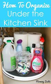 Kitchen Sink Stinks When Running Water by Best 25 Organize Under Sink Ideas On Pinterest Kitchen Sink