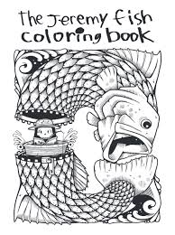 Jeremy Fish Coloring Book Upper Playground 001