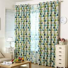 geometric pattern curtains canada unique curtains aliexpress buy twopages one panel contemporary