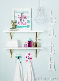 Girly Bathroom Accessories Sets by Add A Splash Of Color To Your Everyday Bathroom Decor Diy Home