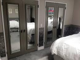 Mirror Closet Doors For Bedrooms Mirrored Closet Doors Ideas