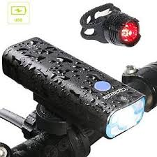 LED Bike Lights C168 Cycloving Powerful USB Rechargeable Bicycle