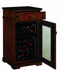 Locking Liquor Cabinet Amazon by Amazon Com Madison Thermoelectric Wine Coolers In Rose Cherry