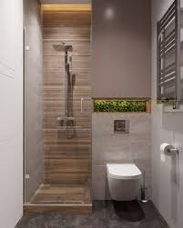 small bathroom with puristic design decor