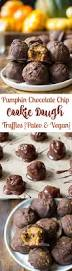 Paleo Pumpkin Cheesecake Snickerdoodles by Pumpkin Chocolate Chip Cookie Dough Truffles Paleo U0026 Vegan
