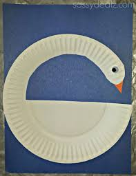 Swan Paper Plate Craft For Kids