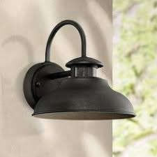 motion sensor outdoor light fixtures ls plus