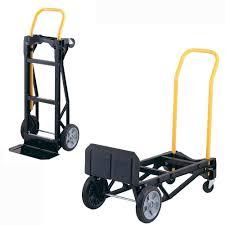 Hand Truck Convertible Dolly Trolley 400 Lb Capacity Cart Platform ...