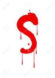 Wet Paint Font Type Letter S Royalty Free Cliparts Vectors And