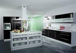 altano einbauküche hochglanz schwarz kochinsel küche