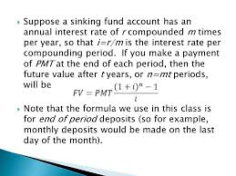 sinking fund calculator compounded monthly 100 images