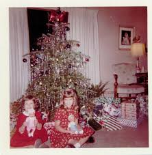 Christmas Tree Tinsel Icicles 1960 u0027s christmas retrospective apartment therapy