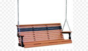 Swing Porch Plastic Lumber Garden Furniture Bench