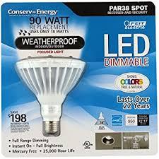 feit par38 spot dimmable led light bulb 2 pack
