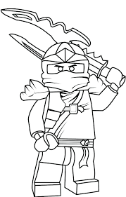 Coloring Pages Lego Ninjago Kai Zx
