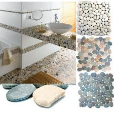 flußkiesel steinkiesel steinwand verblender duschboden wand