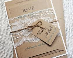 Rustic Wedding Invites To Inspire You On How Create Your Own Invitation 2